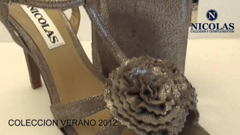 ba1ca946ae0 CALZADOS NICOLAS COLECION VERANO 2012 - 1.mpg - YouTube