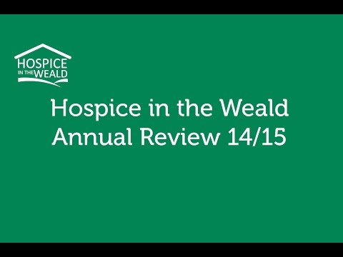 Hospice in the Weald Annual Review 14-15