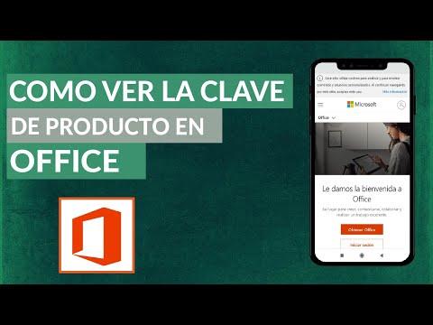 Cómo VER la Clave de Producto o Número de Serial de Office 2019 y Office 2016