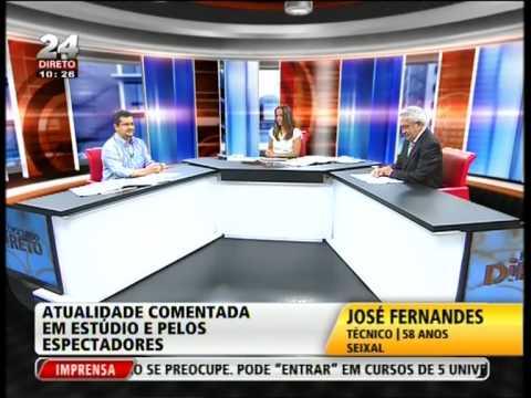 """Discurso Directo"", TVI24, 3 de Agosto de 2012"