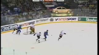 2003 IIHF golden goal Anson Carter part 1of2