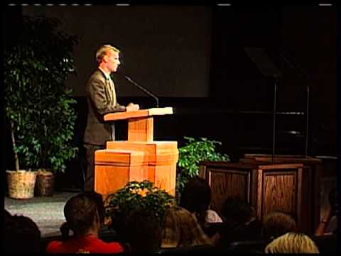 Education Week 2003 - John Bytheway - Especially for Young Single Adults: Who When and Why We Marry