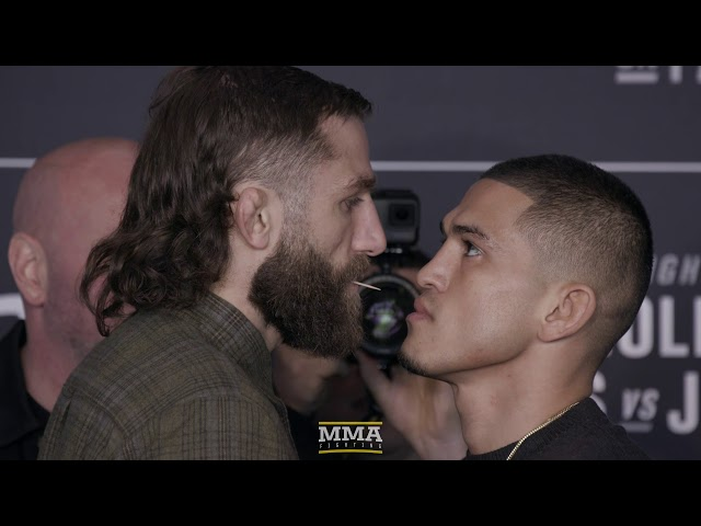 UFC 223 Media Day Staredowns (w/commentary) - MMA Fighting