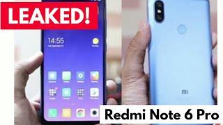 [Leaked] India Launch Xiaomi Redmi Note 6 Pro Revealed Invitatiopn November