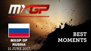 MXGP Qualifying Race Best Moments_Russia #motocross