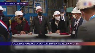 Yvelines | Plusieurs ministres en visite à l'entreprise Koné à Trappes