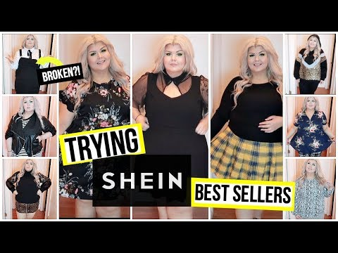 Trying $200 Of Shein's Plus Size Best Sellers | Shein Try On Haul