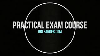 DrLeander.com Online Practical exam Course Promo Video