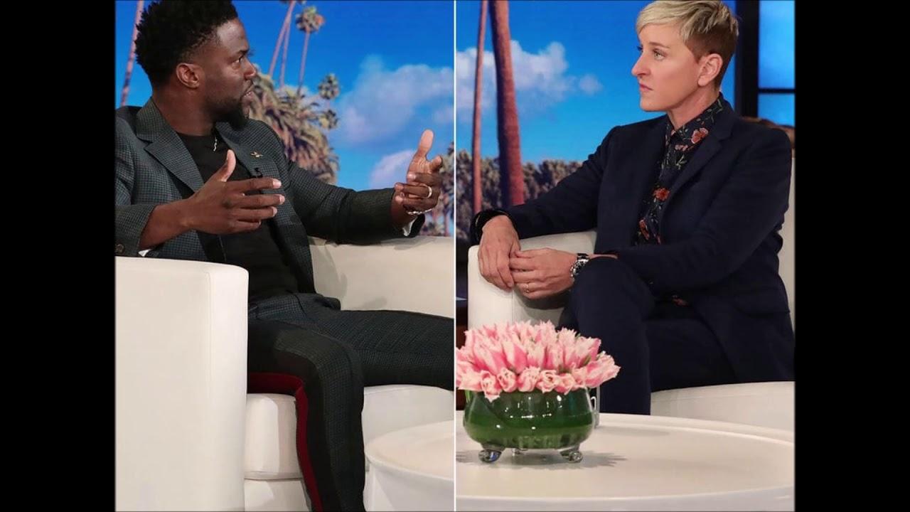 Kevin Hart 'Evaluating' Returning To Host The Oscar's After Sit Down With Ellen DeGen