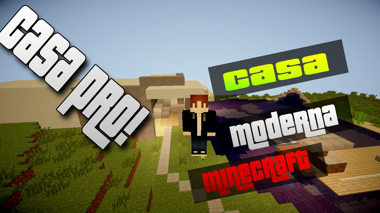 Minecraft casa ultra moderna youtube for Casa moderna minecraft pe 0 10 5