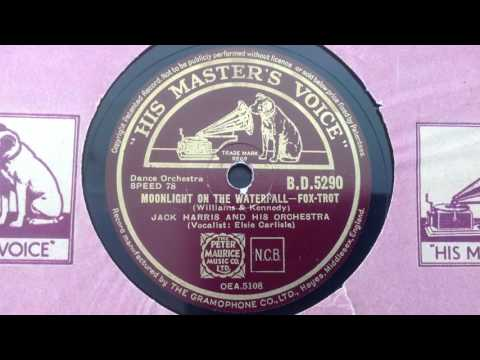 Jack Harris & His Orchestra (w. Elsie Carlisle) - Moonlight on the Waterfall (1937)