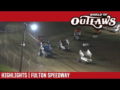 World of Outlaws Sprint Car tour puts on fast show at Fulton Speedway