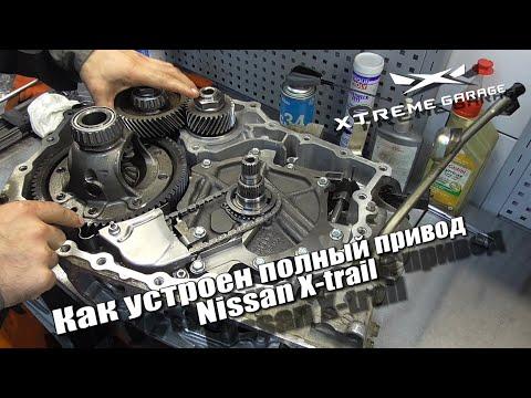 Как устроен полный привод Nissan X-trail