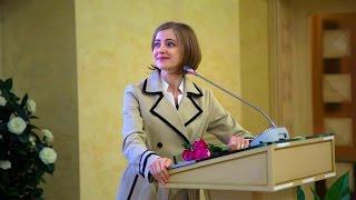 Встреча Натальи Поклонской со студентами в Общественной палате РФ