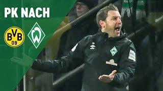 Pressekonferenz mit Lucien Favre & Florian Kohfeldt | Borussia Dortmund - Werder Bremen 2:1