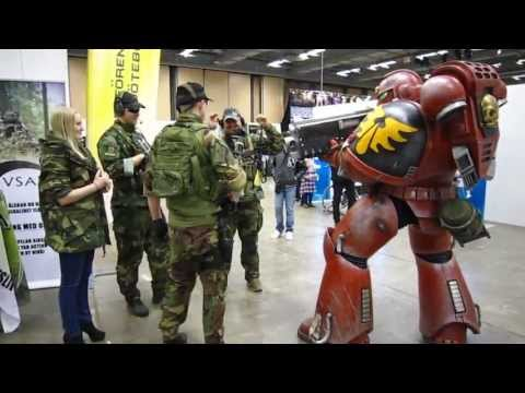 Pilerud's cosplay - Blood Angels Space Marine at SSGFC Gothenburg 2013