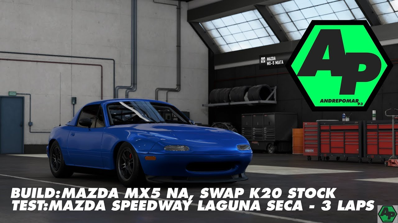 2006 Mazda Bumper Swap NC1 to NC3 Miata MX-5 Winning Blue Exterior ...