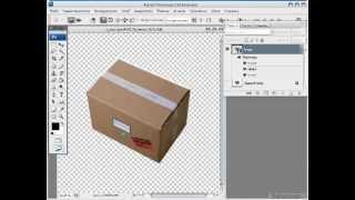 Уроки по PhotoShop -3d из плоской графики.