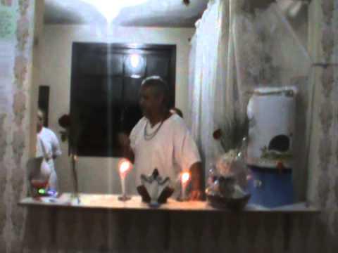 TEMPLO DE UMBANDA CABOCLO SETE FLECHAS - PALESTRA Dr. FERNANDO - 01/04/2015