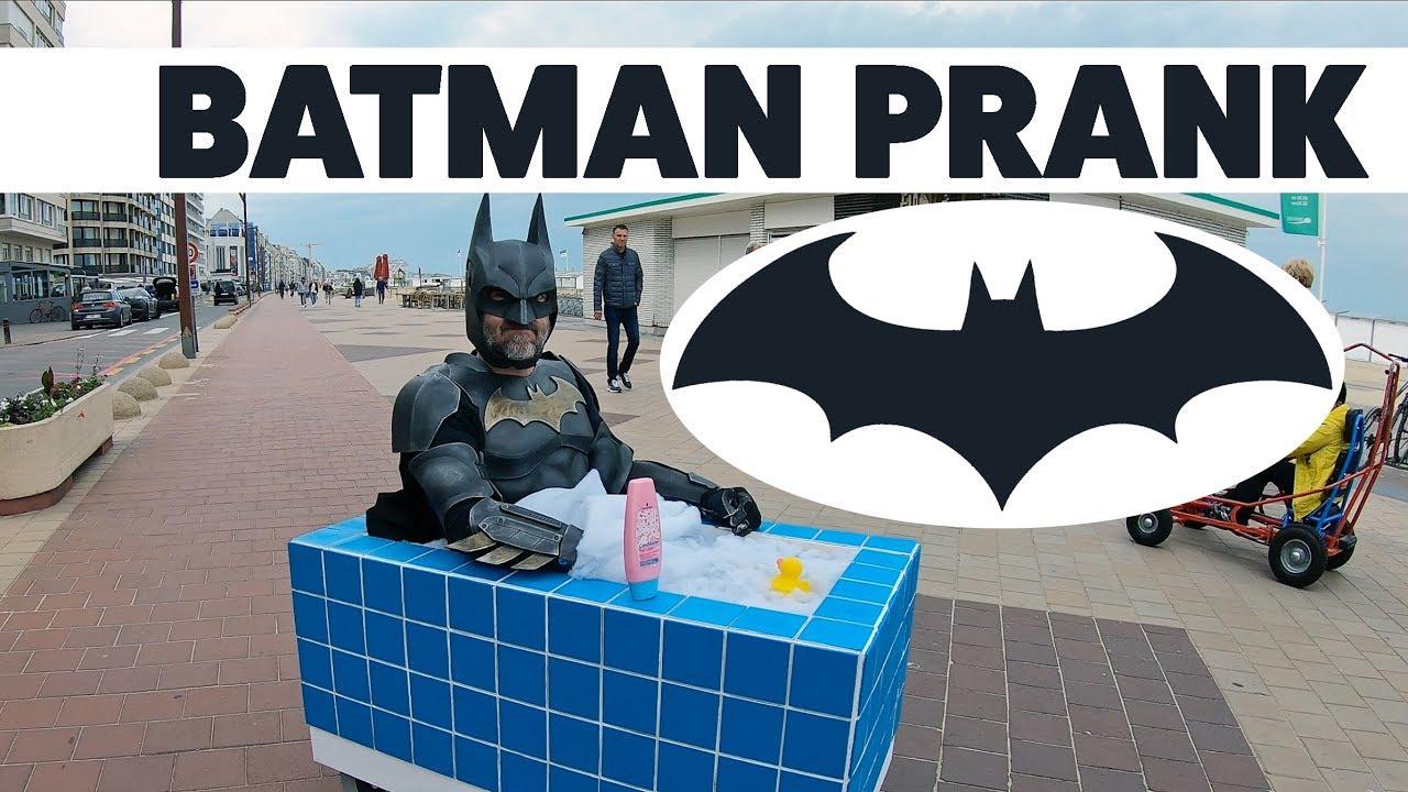 batman prank youtubebatman comic prank