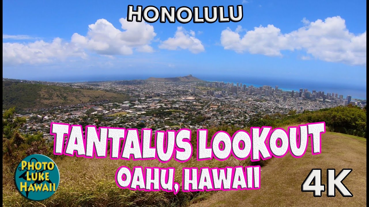 Tantalus Lookout Oahu Hawaii