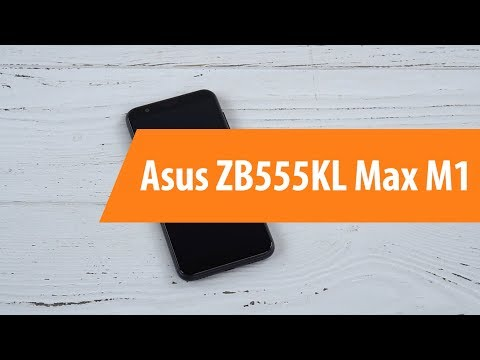 Распаковка смартфона Asus ZB555KLMax M1 / Unboxing Asus ZB555KLMax M1