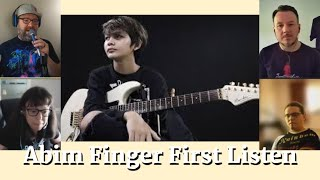 Abim Finger Dream Theater Hollow Years Guitar Solo Cover REACTION Musicians Panel REACTS & Review