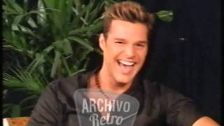 Ricky Martin con Susana Giménez 1999: en la cima de su carrera