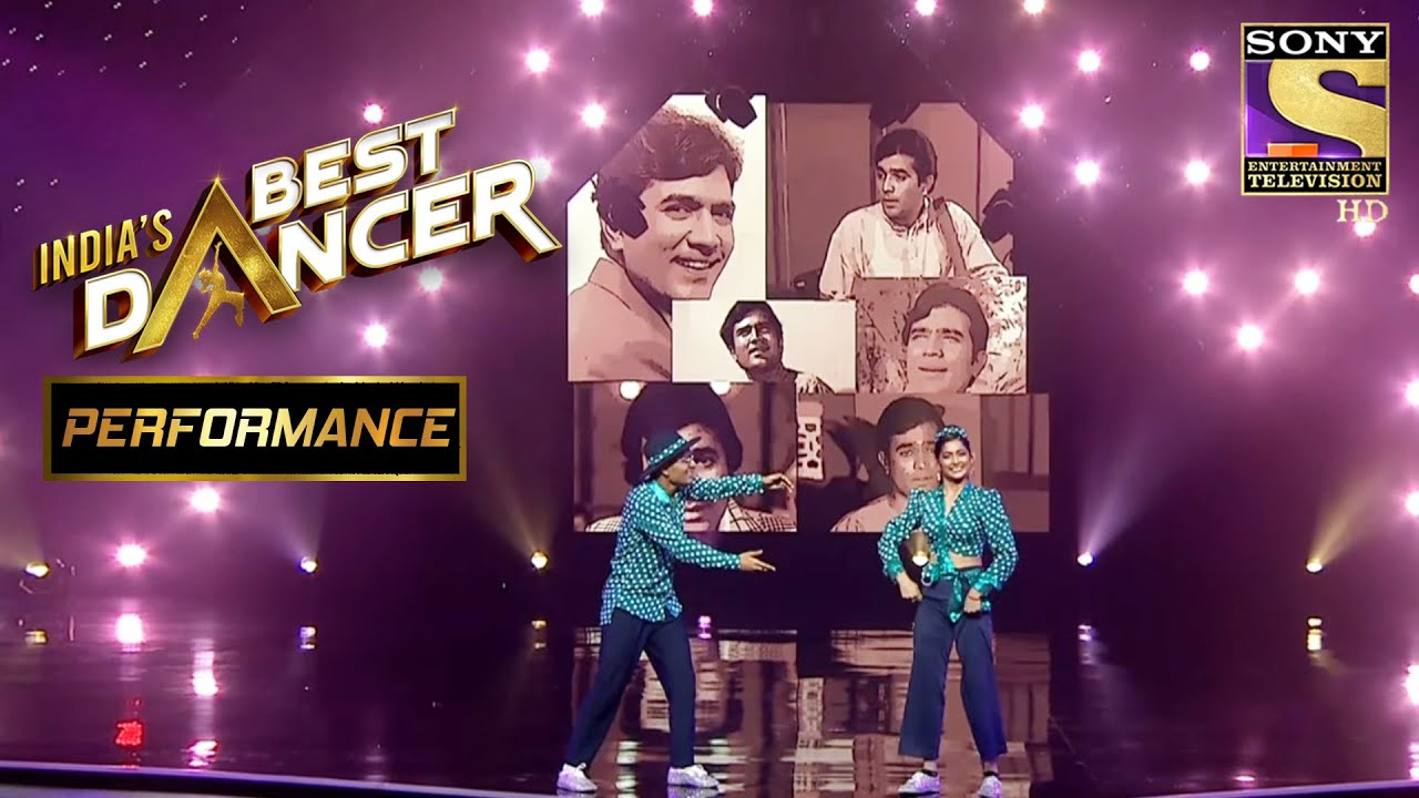 Download The Retro Style With Rajesh Khanna! | India's Best Dancer