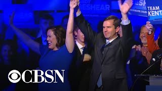 Democrats celebrate significant election victories in Kentucky and Virginia