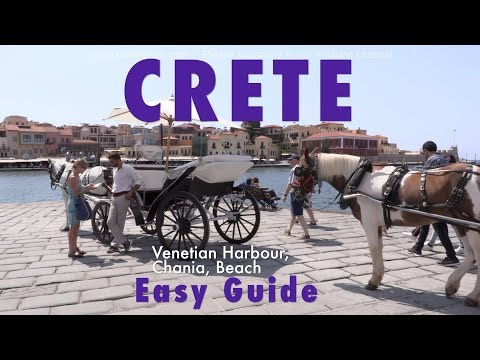 CRETE GUIDE Cruise port great old town, fantastic Venetian harbour to top beach