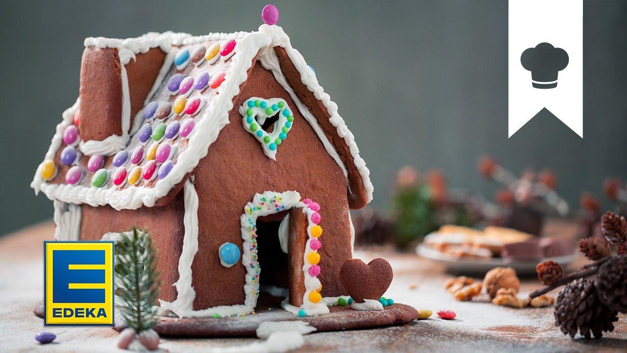 lebkuchenhaus selber machen deko und geschenkidee zu weihnachten edeka youtube. Black Bedroom Furniture Sets. Home Design Ideas