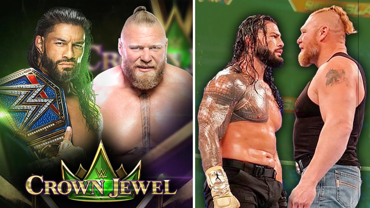 'Ho Gya Confirm🔥' Roman Reigns Vs Brock Lesnar OFFICIAL.. WWE Crown Jewel 2021 Announced, Smackdown