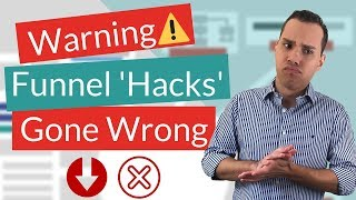 Stop Sales Funnel Hacking! 5 BIG Funnel Mistakes You MUST Avoid