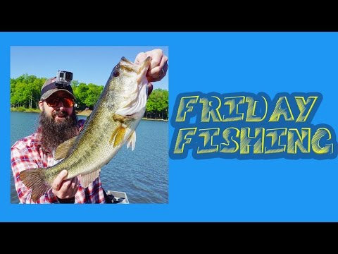 Friday Fishing: BIG 5.8lb Largemouth Bass!