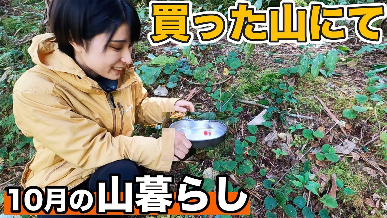 【お知らせ有り】とある日の田舎暮らし!ヘビイチゴ大量に食べちゃった…【前編】