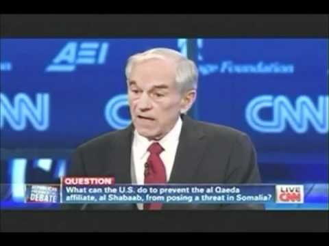 Ron Paul Makes Neocon Wolfowitz Squirm in his Seat at GOP Debate!