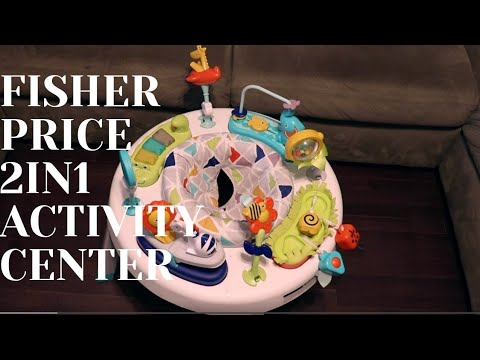 Fisher-Price 2in1 Activity Center Review!!