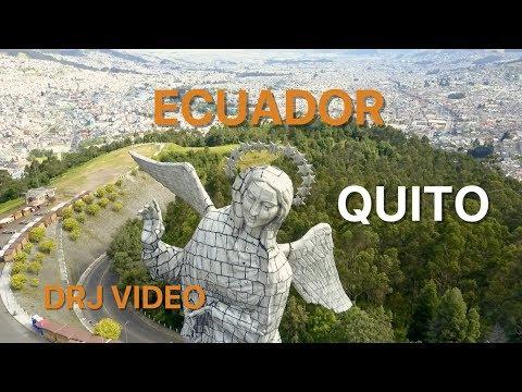Stunning views of Quito, Ecuador, 2017, fullHD