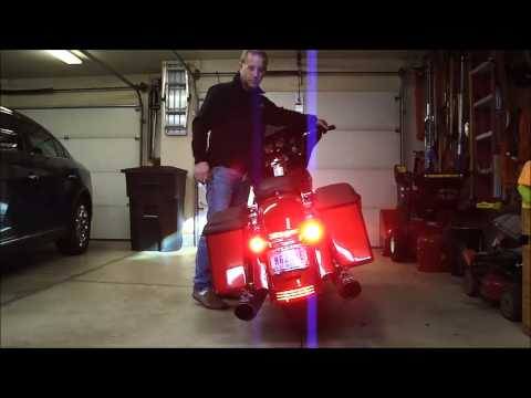 Harley Tri Glide >> Custom Dynamics LED Upgrade - YouTube