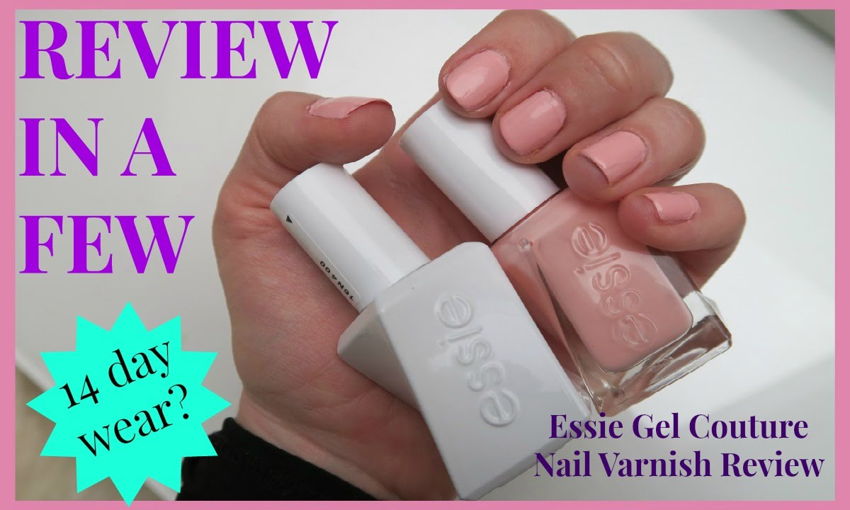 Essie Gel Couture Nail Varnish - Review in A Few - Shade Spool Me ...