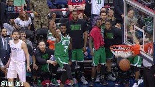 Jaylen Brown Highlights vs Washington Wizards (18 pts, 4 reb, 3 ast)
