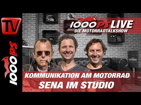 1000PS Live - Kommunikation am Motorrad - SENA im Studio