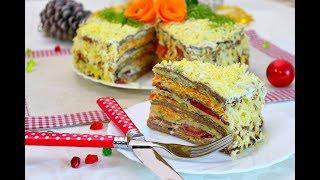 Кабачково-печёночный торт. Домашний ресторан®