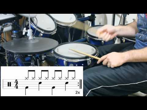 TEORIA MUSICAL Aplicada na bateria - Partitura - COMPASSOS - Pt 2 - BATERIA INTERATIVA