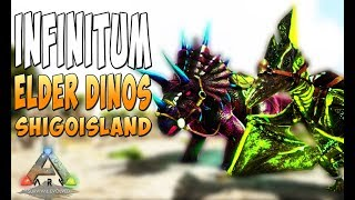 Новейший мод Infinitum и Elder Dinos! - Ark Survival Evolved Infinitum #1