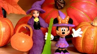 Play Doh Halloween Princess Anna Dress Up as Good Witch Magiclip Minnie Halloween Costumes
