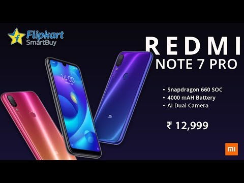 Redmi Note 7 Pro OFFICIAL | Redmi Note 7 Pro Price, Specifications, Release Date in INDIA