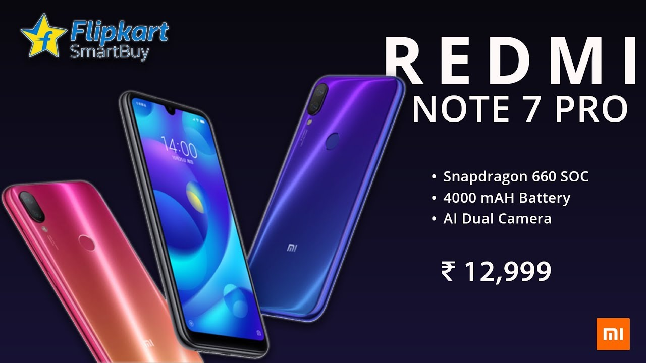 Redmi Note 7 Pro Official Redmi Note 7 Pro Price Specifications