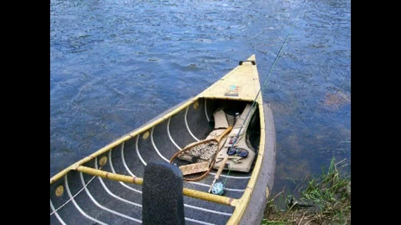 My Fishing Canoe & Husky Browns Before the Macro Kill in 96